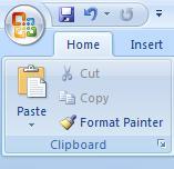 Office 2007 Ribbon