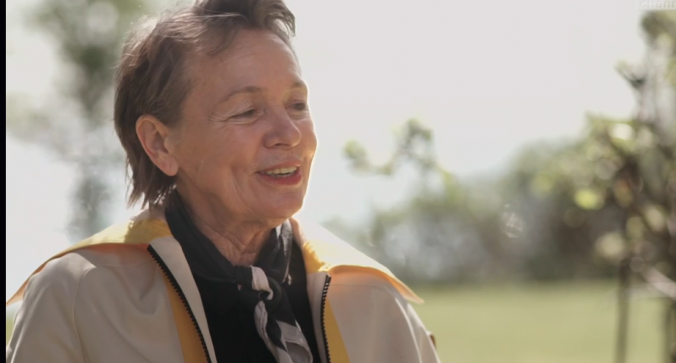 Laurie Anderson. From http://channel.louisiana.dk/video/laurie-anderson-advice-young